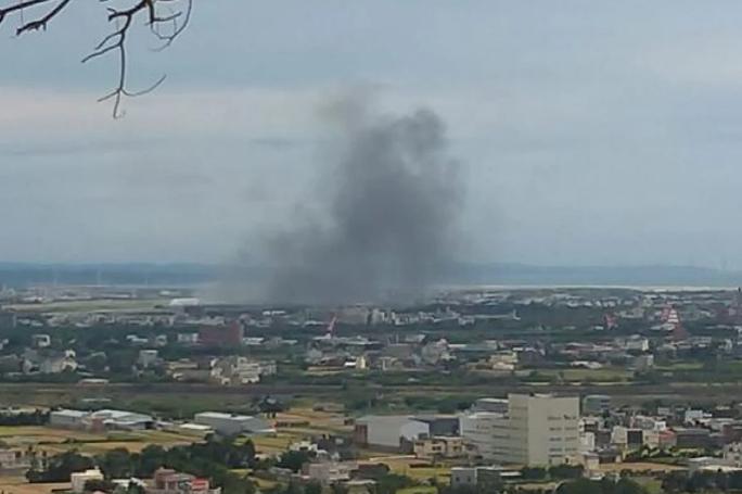Trực thăng Đài Loan rơi lúc tập trận lớn, hai phi công thiệt mạng - Ảnh 1.