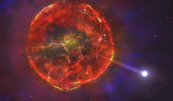 Vật thể lạ, chết một nửa lao nhanh giữa thiên hà chứa Trái Đất - Ảnh 1.