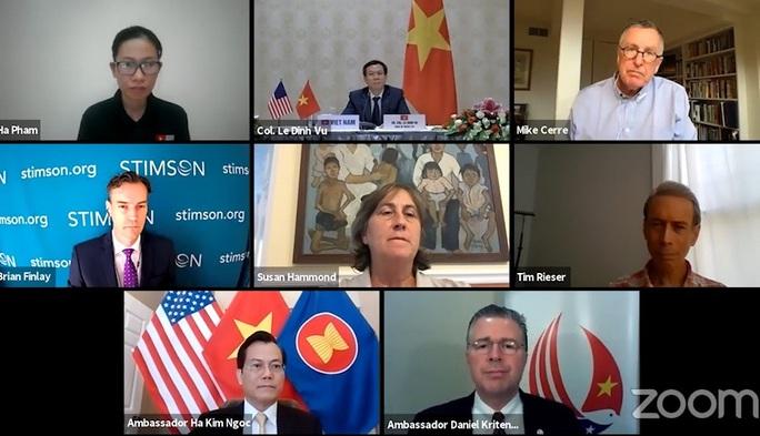 Đại sứ Việt Nam dự tọa đàm về khắc phục hậu quả chiến tranh tại Mỹ - Ảnh 1.