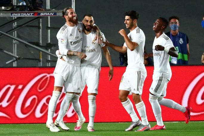 Lập kỷ lục 10 chiến thắng liên tiếp, Real Madrid vô địch La Liga - Ảnh 3.