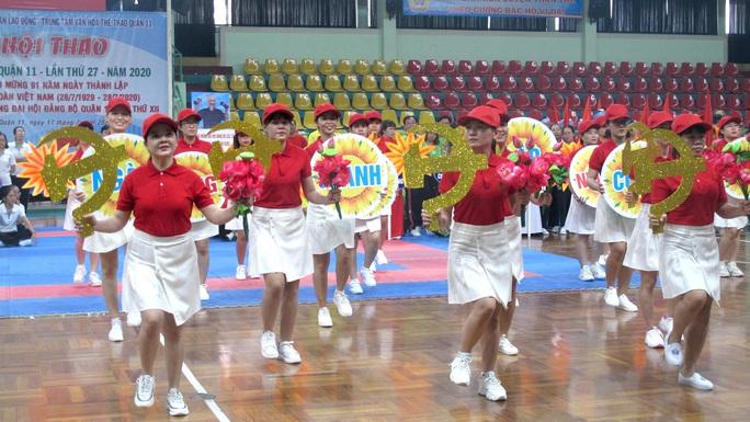 Tưng bừng Hội thao CNVC-LĐ Quận 11 - Ảnh 3.
