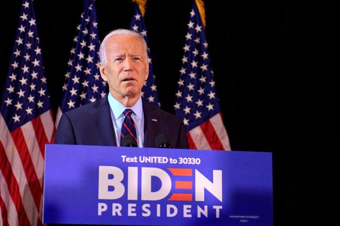 """Bầu cử Mỹ: Ông Biden """"cạn lời"""" với Tổng thống Trump - Ảnh 2."""