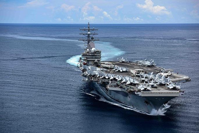 """Tàu sân bay Mỹ diễn tập """"đỉnh cao"""" ở biển Đông - Ảnh 3."""