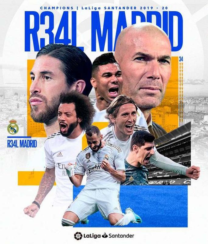 Lập kỷ lục 10 chiến thắng liên tiếp, Real Madrid vô địch La Liga - Ảnh 4.