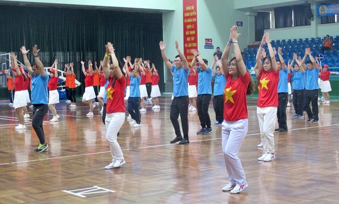 Tưng bừng Hội thao CNVC-LĐ Quận 11 - Ảnh 5.