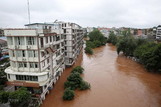 Việt Nam hỗ trợ Trung Quốc 100.000 USD khắc phục hậu quả lũ lụt, động đất - Ảnh 1.