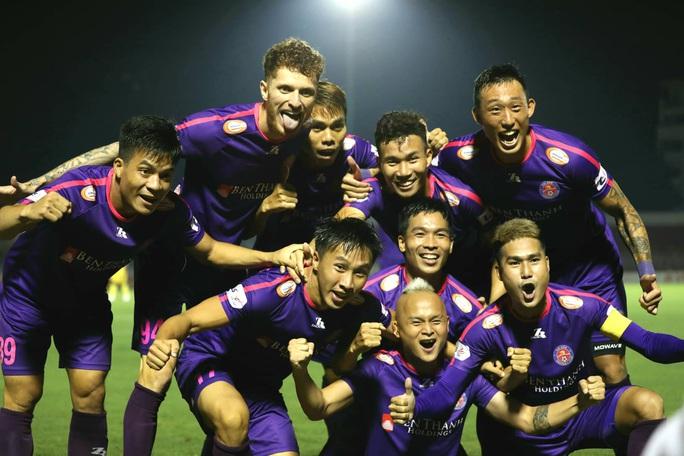 Sài Gòn FC bất bại 10 vòng đấu - Ảnh 1.