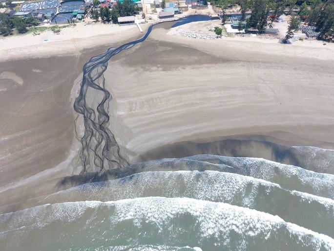 CLIP: Cảnh nước thải từ trang trại nuôi tôm biến bãi biển thơ mộng thành biển chết - Ảnh 15.