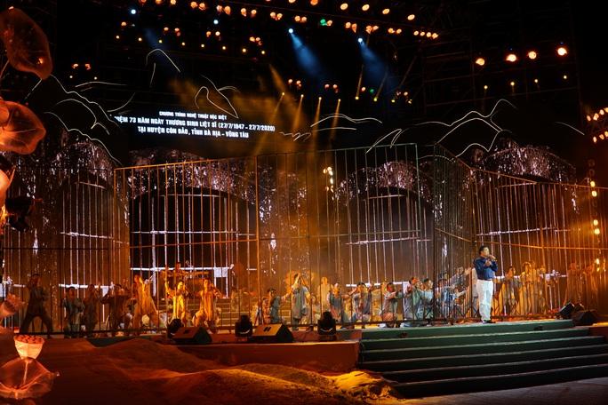 Ấn tượng chương trình Côn Đảo - Hồn thiêng Tổ quốc - Ảnh 4.