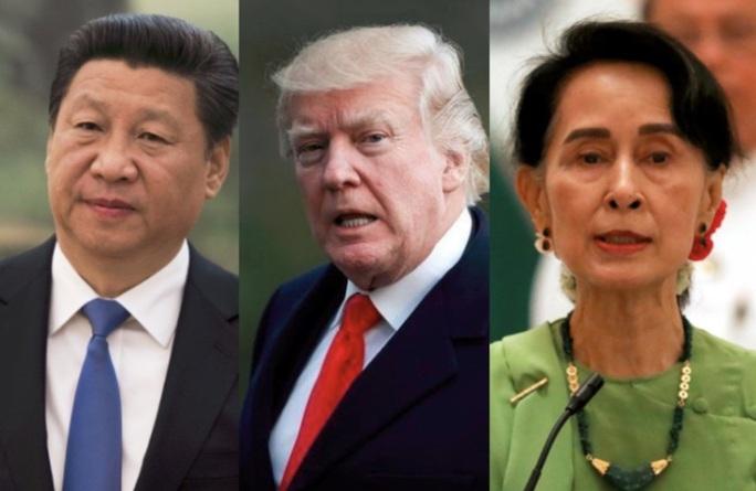 Mỹ và Trung Quốc gây gổ tới Myanmar - Ảnh 1.