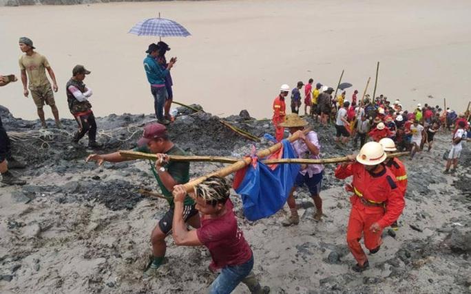 Myanmar: Sạt lở kinh hoàng tại mỏ ngọc bích, ít nhất 113 người chết - Ảnh 3.