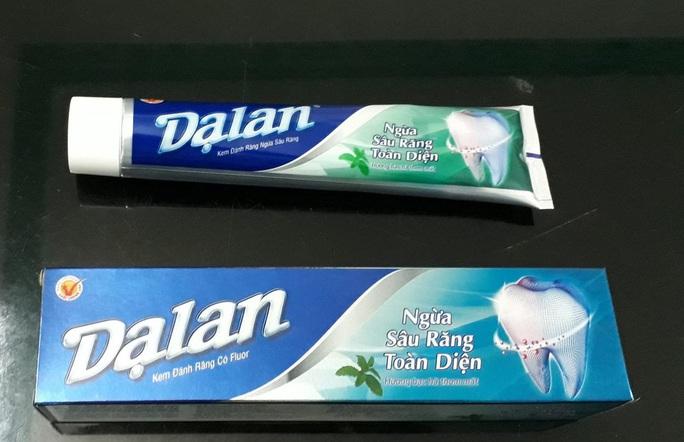 Lô kem đánh răng Dạ lan nổi tiếng một thời bị thu hồi - Ảnh 1.