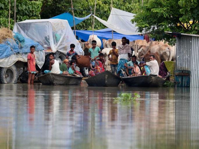 Trung Quốc hứng lũ lụt, láng giềng cũng không thoát - Ảnh 4.