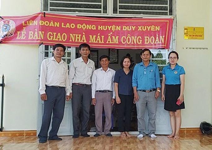 Quảng Nam: Hỗ trợ đoàn viên khó khăn về nhà ở - Ảnh 1.