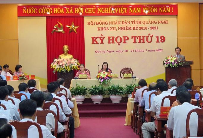 Kỳ họp HĐND tỉnh Quảng Ngãi không chất vấn trực tiếp - Ảnh 1.