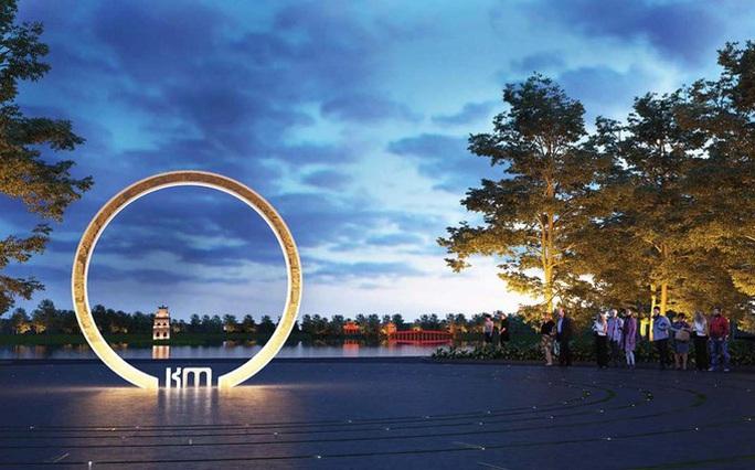 Công bố thiết kế độc đáo cột mốc số Km 0 bên bờ hồ Gươm - Ảnh 4.