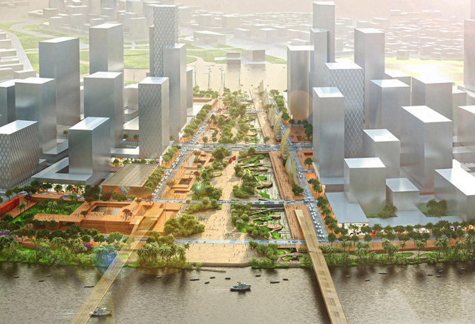 TP HCM sẽ có quảng trường lớn nhất Việt Nam - Ảnh 1.