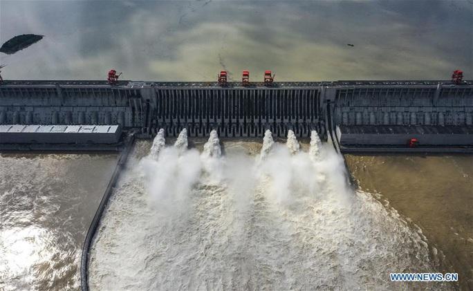 Đợt lũ thứ hai tràn về, nước hồ chứa đập Tam Hiệp cao kỷ lục - Ảnh 8.