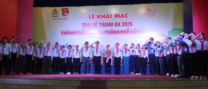 Thiếu nhi TP HCM hào hứng tham gia trại hè Thanh Đa - Ảnh 9.