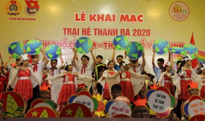 Thiếu nhi TP HCM hào hứng tham gia trại hè Thanh Đa - Ảnh 4.