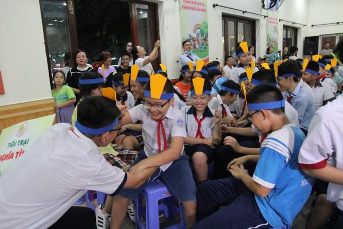 Thiếu nhi TP HCM hào hứng tham gia trại hè Thanh Đa - Ảnh 5.