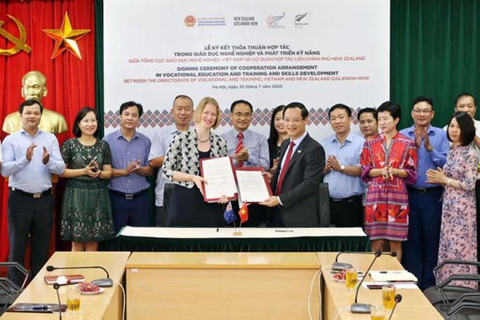 New Zealand hợp tác giáo dục nghề nghiệp với Việt Nam - Ảnh 1.