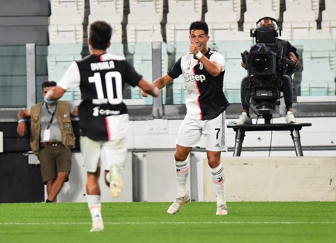 Ronaldo đua giày vàng, Juventus tăng tốc đến ngôi vương - Ảnh 4.