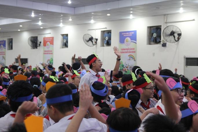 Thiếu nhi TP HCM hào hứng tham gia trại hè Thanh Đa - Ảnh 14.