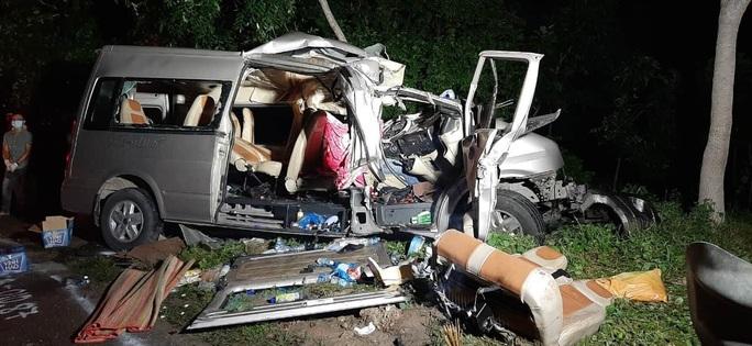 Vụ tai nạn thảm khốc tại Bình Thuận: Xe khách giảm tốc độ từ 80km/h xuống 69km/h trong 1 phút trước tai nạn - Ảnh 3.