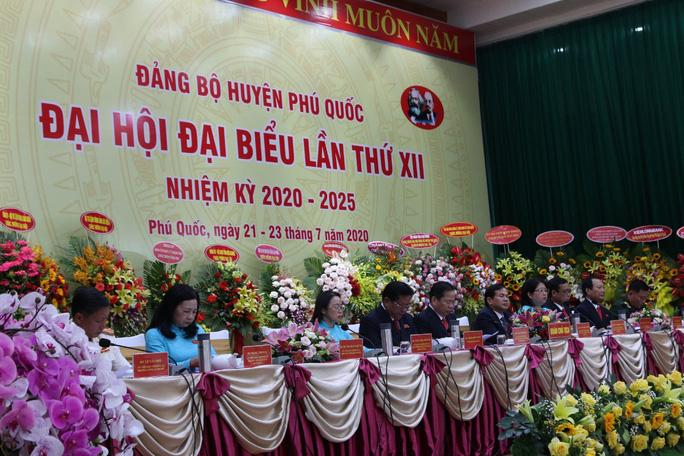 Ông Mai Văn Huỳnh tái đắc cử Bí thư Huyện ủy Phú Quốc - Ảnh 5.