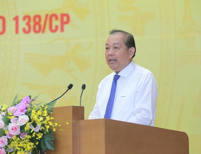 Phó Thủ tướng Trương Hoà Bình: Cán bộ tha hoá, bao che, tiếp tay cho tội phạm - Ảnh 1.