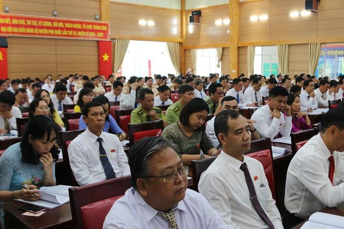 Ông Mai Văn Huỳnh tái đắc cử Bí thư Huyện ủy Phú Quốc - Ảnh 6.