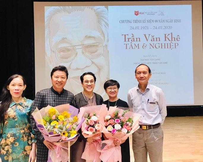 Nghệ sĩ Kim Cương, Thành Lộc xúc động trong kỷ niệm ngày sinh cố giáo sư Trần Văn Khê - Ảnh 7.