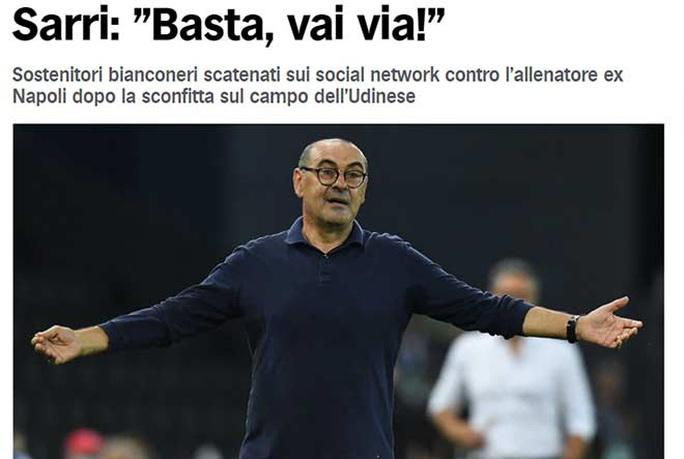 Thua sốc đối thủ lo trụ hạng, Juventus sắp mất ngôi Serie A - Ảnh 1.