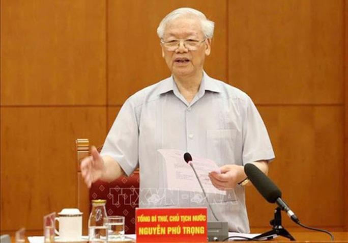Tổng Bí thư, Chủ tịch nước: Tập trung chỉ đạo xét xử 9 vụ án trọng điểm - Ảnh 1.