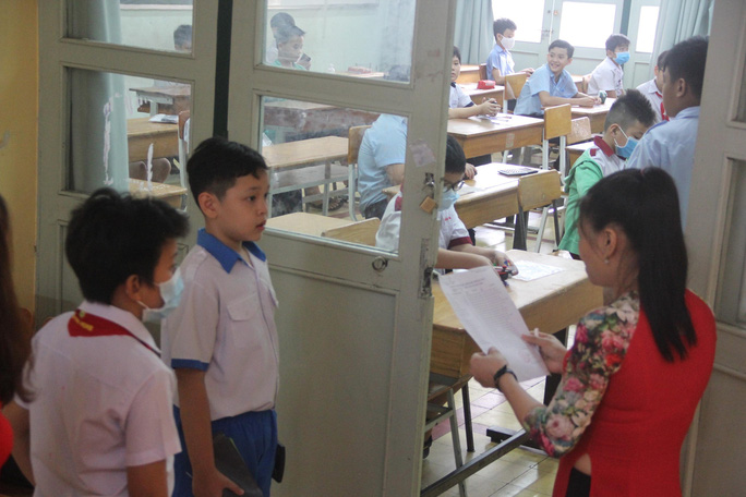 Gần 4.000 học sinh khảo sát vào lớp 6 Trường chuyên Trần Đại Nghĩa, ngày 29-7 công bố kết quả - Ảnh 1.