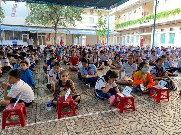 Gần 4.000 học sinh khảo sát vào lớp 6 Trường chuyên Trần Đại Nghĩa, ngày 29-7 công bố kết quả - Ảnh 2.