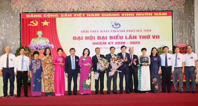 Ông Tô Quang Phán tái cử chức danh Chủ tịch Hội Nhà báo TP Hà Nội - Ảnh 1.
