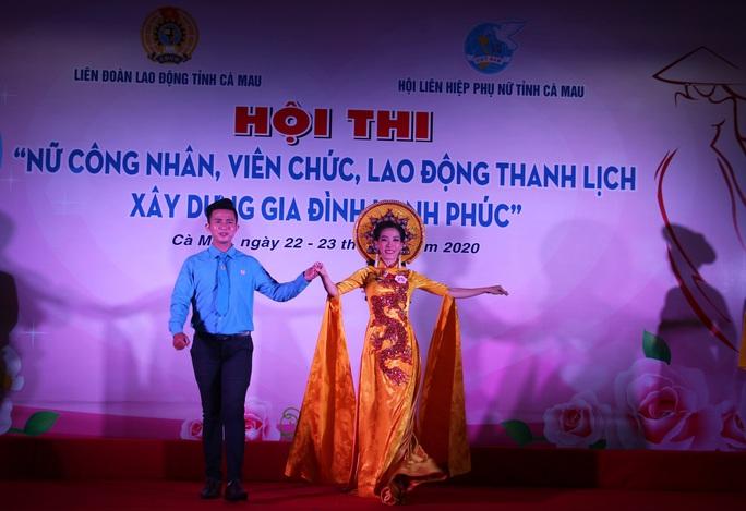 Phạm Ngọc Cầm đăng quang nữ công nhân, viên chức thanh lịch  - Ảnh 9.