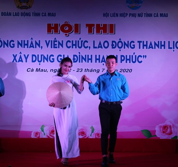 Phạm Ngọc Cầm đăng quang nữ công nhân, viên chức thanh lịch  - Ảnh 10.