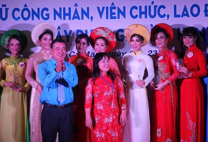 Phạm Ngọc Cầm đăng quang nữ công nhân, viên chức thanh lịch  - Ảnh 12.