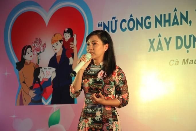 Phạm Ngọc Cầm đăng quang nữ công nhân, viên chức thanh lịch  - Ảnh 4.