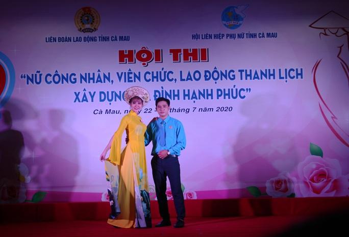 Phạm Ngọc Cầm đăng quang nữ công nhân, viên chức thanh lịch  - Ảnh 11.