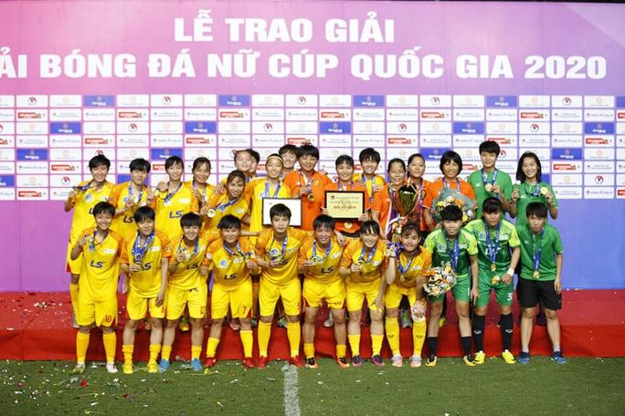Sở hữu dàn sao tài năng, CLB TP HCM lần đầu đăng quang giải nữ Cúp quốc gia - Ảnh 4.
