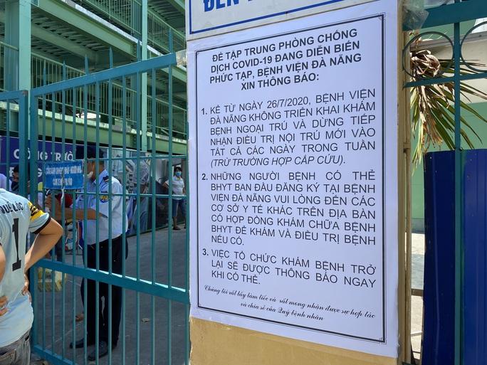 Nhiều bệnh nhân và người nhà trốn khỏi Bệnh viện Đà Nẵng trước lệnh cách ly - Ảnh 2.
