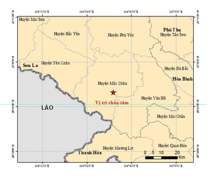 Động đất ở Sơn La, các toà nhà cao tầng ở Hà Nội rung lắc khá mạnh - Ảnh 2.