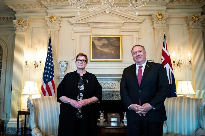 Mỹ - Úc siết chặt tay đối phó Trung Quốc ở biển Đông - Ảnh 1.