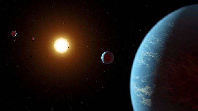Phát hiện siêu trái đất cải trang kỳ lạ, hy vọng ở được - Ảnh 1.