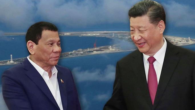 Tổng thống Duterte nói về chiến tranh với Trung Quốc trên biển Đông - Ảnh 2.