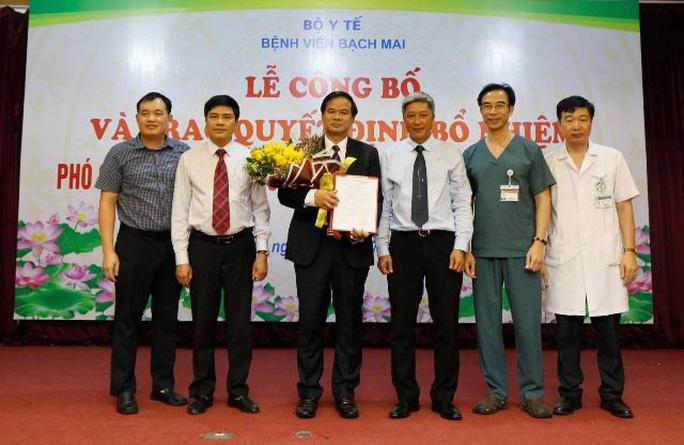 Bộ Y tế bổ nhiệm PGS-TS Đào Xuân Cơ làm Phó Giám đốc Bệnh viện Bạch Mai - Ảnh 1.